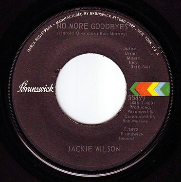 JACKIE WILSON - NO MORE GOODBYES - BRUNSWICK