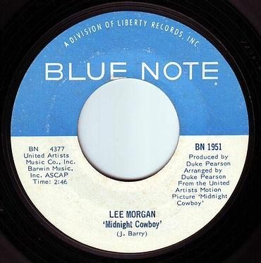 LEE MORGAN - MIDNIGHT COWBOY - BLUE NOTE