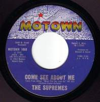 SUPREMES - COME SEE ABOUT ME - MOTOWN