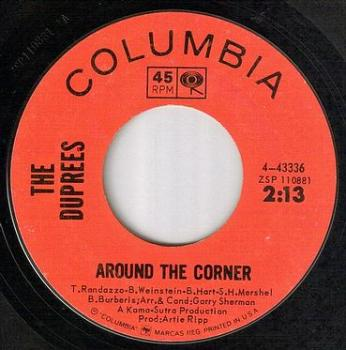 DUPREES - AROUND THE CORNER - COLUMBIA