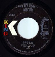 BOBBY BYRD - I NEED HELP - KING