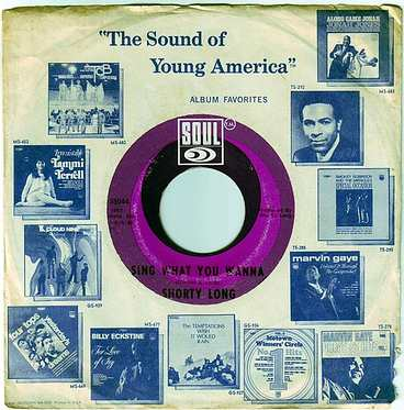 SHORTY LONG - SING WHAT YOU WANNA - SOUL