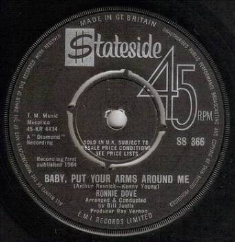 RONNIE DOVE - BABY, PUT YOUR ARMS AROUND ME - STATESIDE
