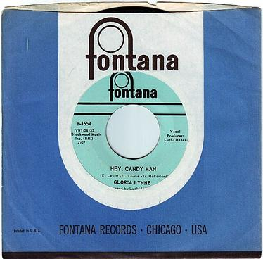 GLORIA LYNNE - HEY, CANDY MAN - FONTANA