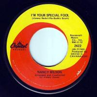 NANCY WILSON - I'M YOUR SPECIAL FOOL - CAPITOL