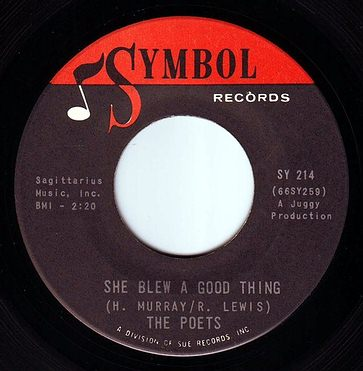 POETS - SHE BLEW A GOOD THING - SYMBOL