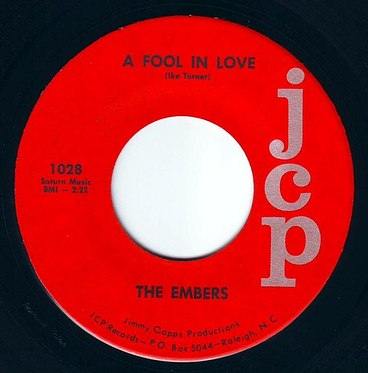 EMBERS - A FOOL IN LOVE - JCP
