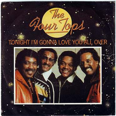 FOUR TOPS - TONIGHT I'M GONNA LOVE YOU ALL OVER - CASABLANCA