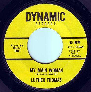 LUTHER THOMAS - MY MAIN WOMAN - DYNAMIC