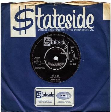 MARY WELLS - MY GUY - STATESIDE