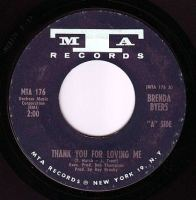 BRENDA BYERS - THANK YOU FOR LOVING ME - MTA