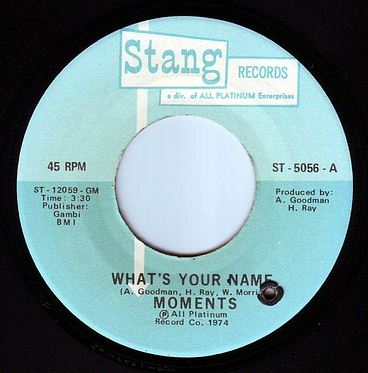 MOMENTS - WHAT'S YOUR NAME - STANG