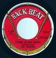 JOE HINTON - CLOSE TO MY HEART - BACK BEAT DEMO