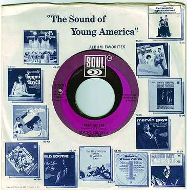GLADYS KNIGHT & THE PIPS - KEEP AN EYE - SOUL