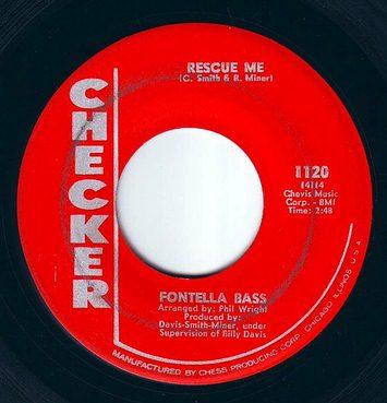 FONTELLA BASS - RESCUE ME - CHECKER