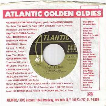 DRIFTERS - I COUNT THE TEARS - ATLANTIC