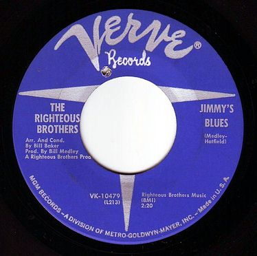 RIGHTEOUS BROTHERS - JIMMY'S BLUES - VERVE