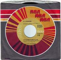 D.J. ROGERS - IT'S GOOD TO BE ALIVE - RCA