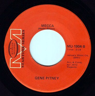 GENE PITNEY - MECCA - MUSICOR