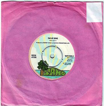 KEVIN AYERS - THE UP SONG - ISLAND