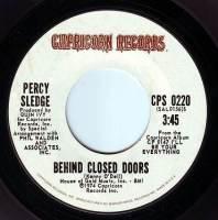 PERCY SLEDGE - BEHIND CLOSED DOORS - CAPRICORN