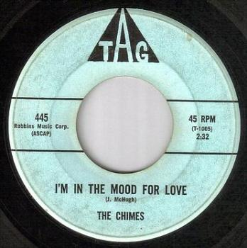 CHIMES - I'M IN THE MOOD FOR LOVE - TAG