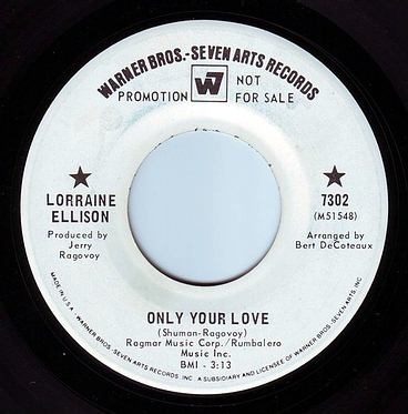 LORRAINE ELLISON - ONLY YOUR LOVE - WB DEMO