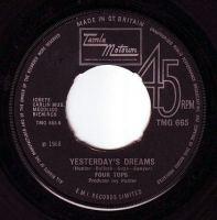FOUR TOPS - YESTRDAY'S DREAMS - TMG 665