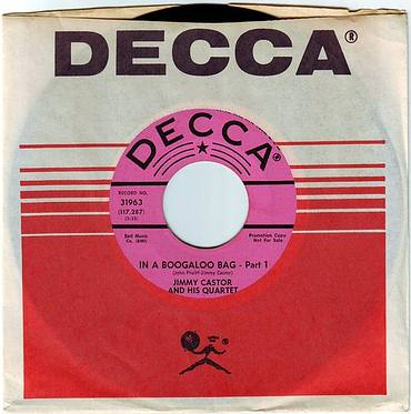 JIMMY CASTOR - IN A BOOGALOO BAG - DECCA DEMO