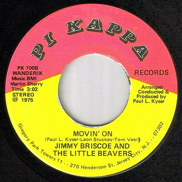 JIMMY BRISCOE & BEAVERS - MOVIN' ON - PI KAPPA