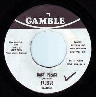 FAUSTUS - BABY PLEASE - GAMBLE DEMO