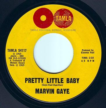 MARVIN GAYE - PRETTY LITTLE BABY - TAMLA