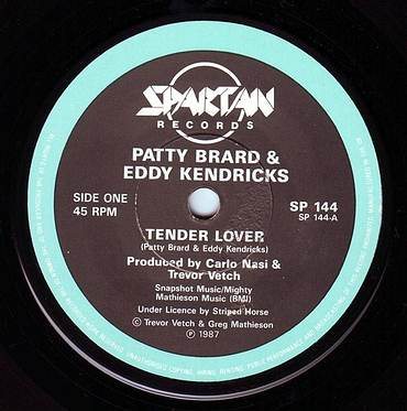PATTY BRARD & EDDY KENDRICKS - TENDER LOVER - SPARTAN