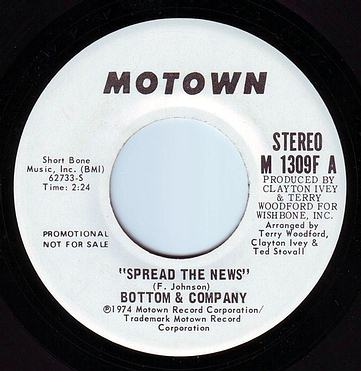 BOTTOM & COMPANY - SPREAD THE NEWS - MOTOWN DEMO