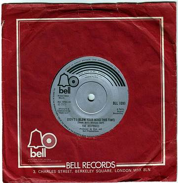 DELFONICS - DIDN'T I (BLOW YOUR MIND THIS TIME) - BELL