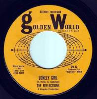 REFLECTIONS - LONELY GIRL - GOLDEN WORLD