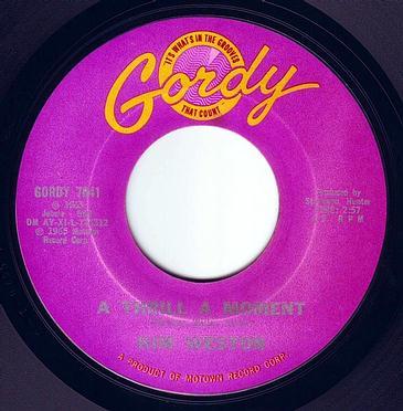 KIM WESTON - A THRILL A MOMENT - GORDY