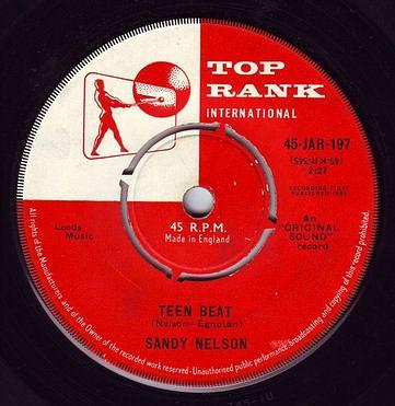 SANDY NELSON - TEEN BEAT - TOP RANK