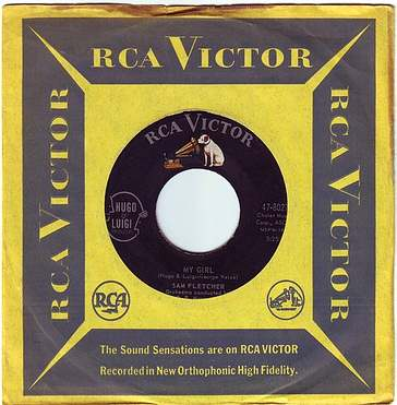 SAM FLETCHER - MY GIRL - RCA