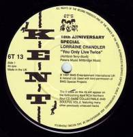LORRAINE CHANDLER - YOU ONLY LIVE TWICE - KENT