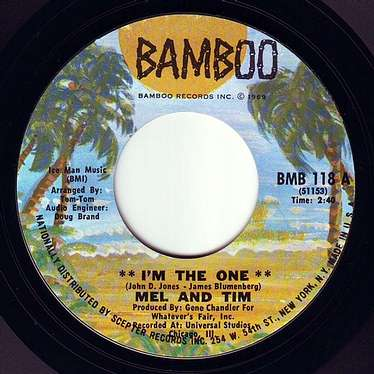 MEL & TIM - I'M THE ONE - BAMBOO