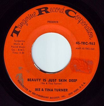 IKE & TINA TURNER - BEAUTY IS JUST SKIN DEEP - TRC