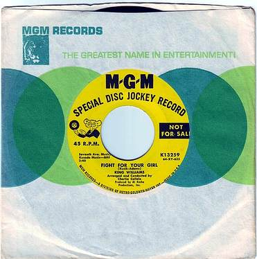KING WILLIAMS - FIGHT FOR YOUR GIRL - MGM DEMO