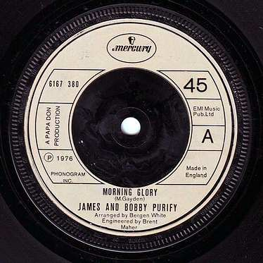 JAMES & BOBBY PURIFY - MORNING GLORY - MERCURY