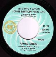 FLAMING EMBERS - LET'S HAVE A LOVE-IN - RIC-TIC 129
