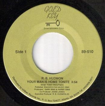 R.B.HUDMON - YOUR MAN IS HOME TONIGHT - GOLD KEY