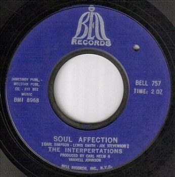 INTERPERTATIONS - SOUL AFFECTION - BELL