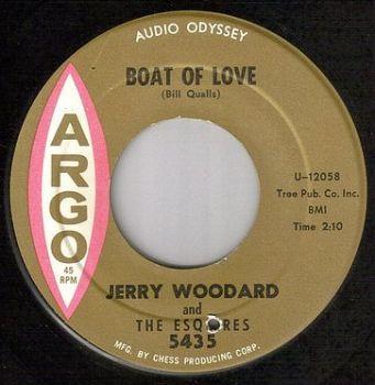 JERRY WOODARD & ESQUIRES - BOAT OF LOVE - ARGO