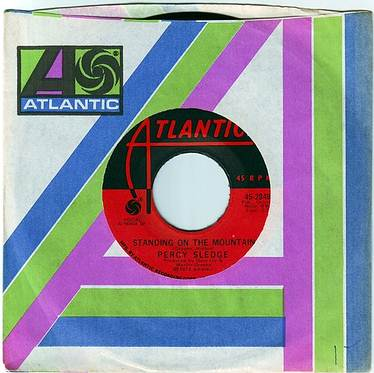 PERCY SLEDGE - STANDING ON THE MOUNTAIN - ATLANTIC
