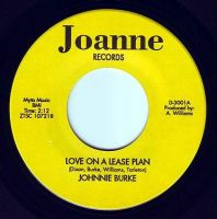 JOHNNIE BURKE - LOVE ON A LEASE PLAN - JOANNE